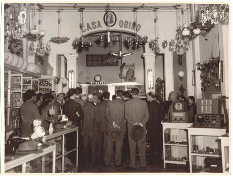 Primeira loja da Obino, rede sediada em Bagé e que tem 46 filias