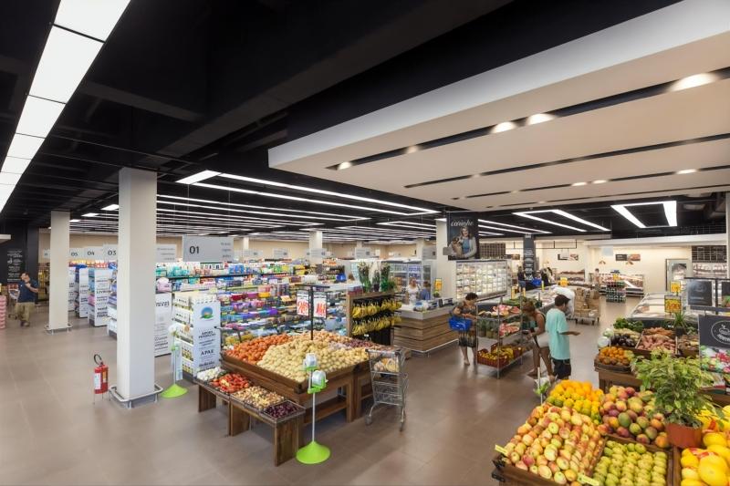 Interior de loja do Imec: rede de Lajeado opera 23 supermercados e segue em expansão