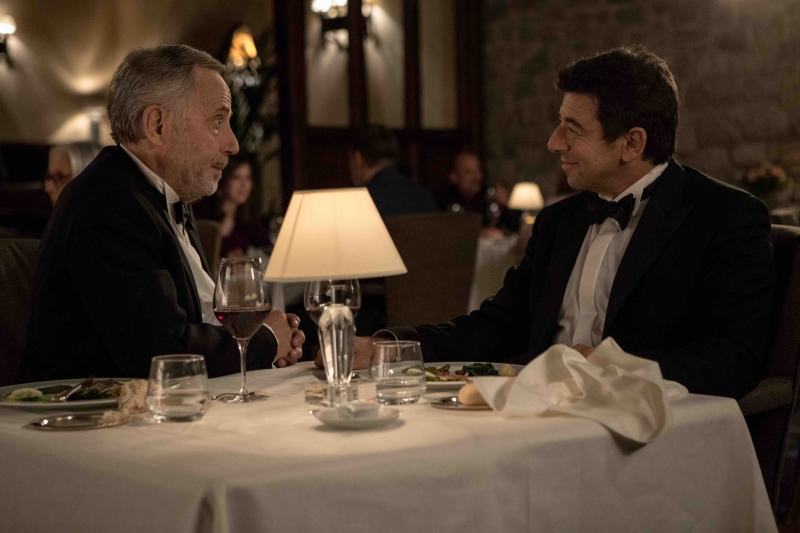 Fabrice Luchini e Patrick Burel como Arthur e César em 'O melhor está por vir'
