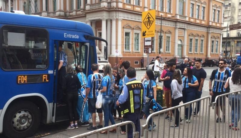O ônibus será tanto para gremistas quanto para coloradas