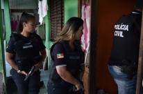 Ação mobiliza quase 500 policiais civis no combate à violência contra a mulher no RS