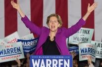 Senadora Elizabeth Warren dá adeus à corrida democrata
