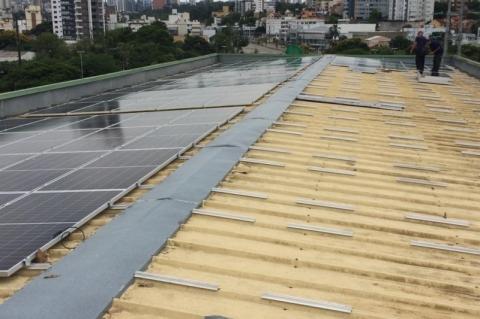 Usina de energia solar será inaugurada na sede da Amrigs