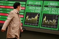Bolsas asiáticas fecham em baixa com escalada de tensões entre EUA e China