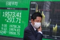 Bolsas da Ásia fecham em baixa, em mais um pregão de forte turbulência