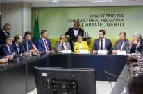 Demandas para reduzir prejuízos da estiagem são entregues ao Ministério da Agricultura