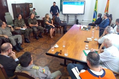 Estado articula forças de segurança em programa de vigilância sanitária das fronteiras