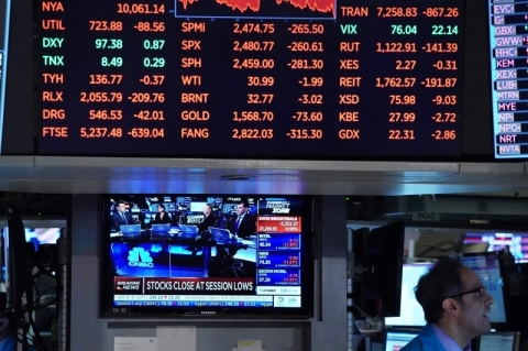 Bolsas de Nova Iorque fecham com alta de 7% com desaceleração da covid-19 e estímulos