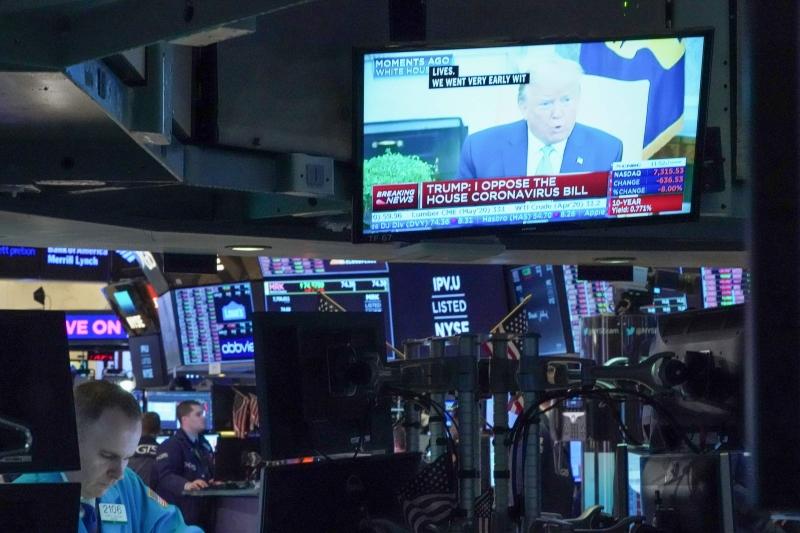 O índice Dow Jones fechou em queda de 0,30%, em 25.735,45 pontos