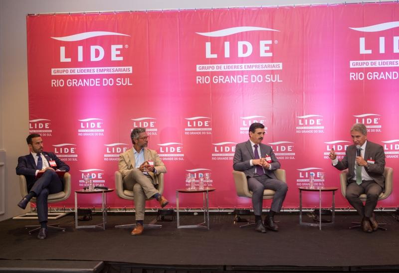 Pauta foi discutida durante reunião-almoço do Grupo de Líderes Empresariais