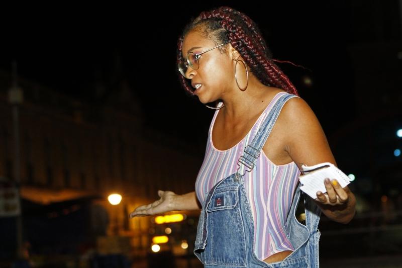 Mariele Cruz esteve entre os poetas que participaram do 'Slam RS' em março, em Porto Alegre