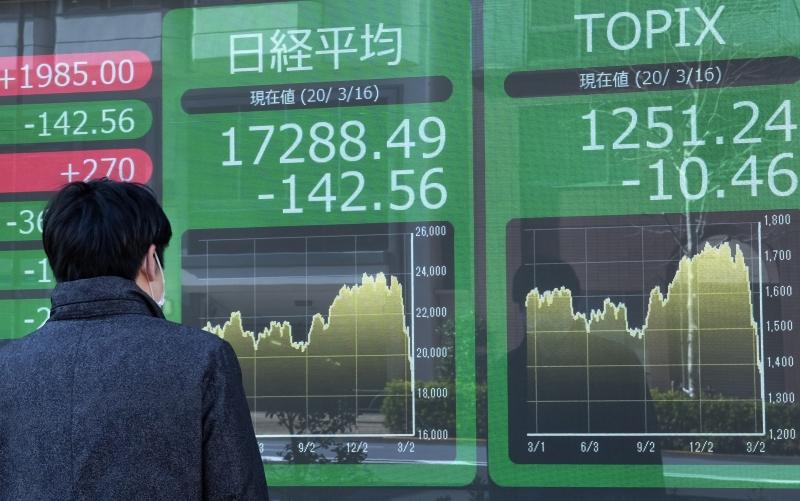 Tom negativo dominou nos pregões das bolsas da Ásia nesta segunda-feira