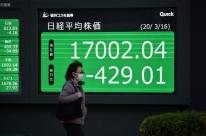 Bolsas da Ásia renovam mínimas em anos, apesar de ações do Fed, BoJ e outros BCs