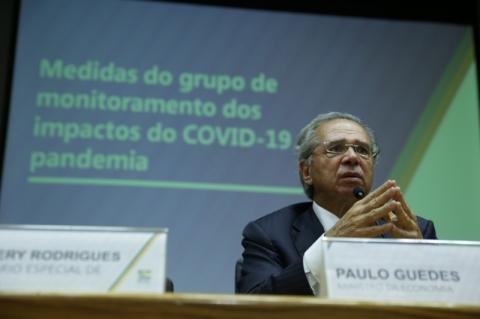 Plano contra pandemia terá quase em R$ 800 bilhões, diz Guedes