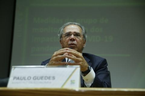 Live às 19h com Paulo Guedes e Benchimol, da XP, aborda impacto do coronavírus na economia