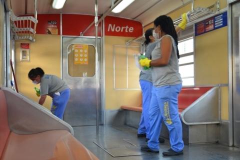Transporte coletivo adota medidas de segurança contra coronavírus