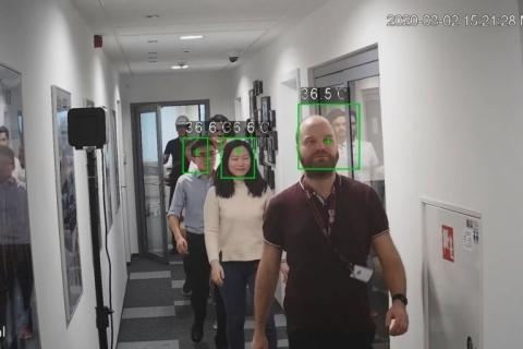 Câmera de detecção térmica é opção para aeroportos