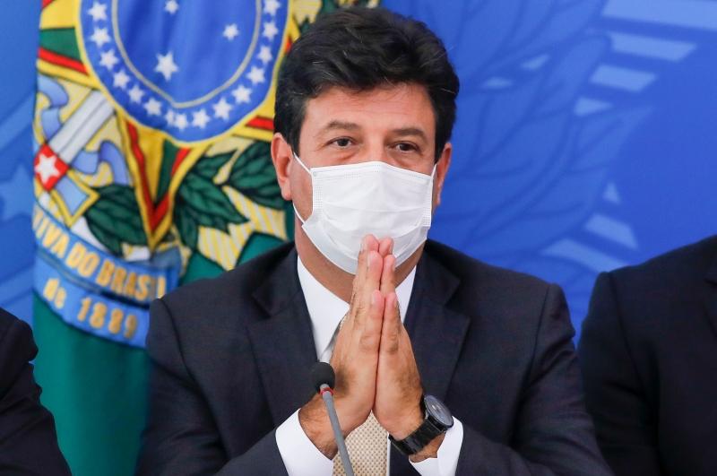 Ministro Mandetta anunciou ampliação de kits de testagem