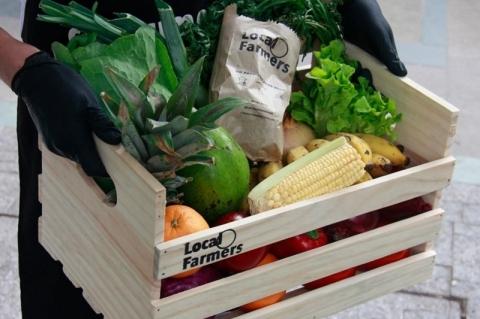 Local Farmers registra aumento de 800% nos pedidos