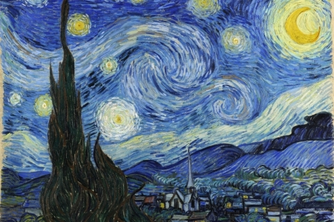 Pinceladas de cor e de vida para comemorar o aniversário de nascimento de Van Gogh