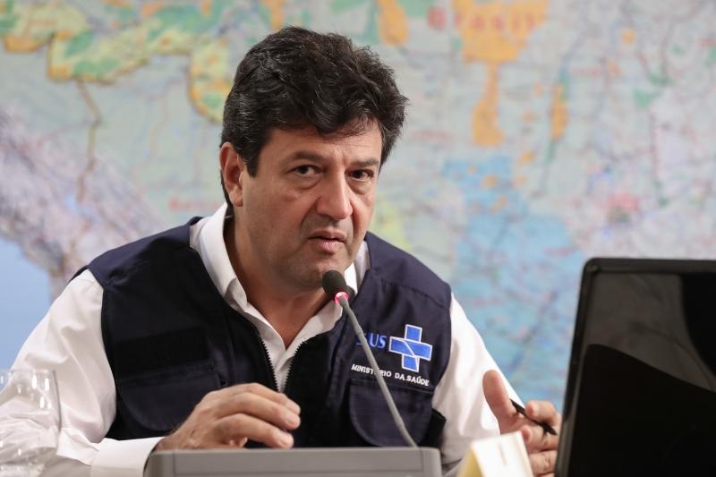 Ministro reforçou que o novo coronavírus entrou no Brasil através da elite econômica
