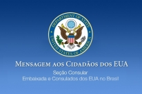 Embaixada dos EUA emite comunicado a americanos que estão no Brasil para que retornem imediatamente