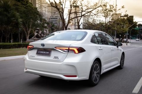 Toyota respondeu por mais de 65% das vendas nacionais de veículos híbridos em 2019