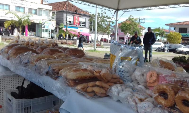 Venda dos produtos ocorria presencialmente em frente à prefeitura do município