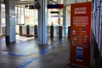 Com medidas de isolamento, Trensurb tem queda de 81% dos passageiros