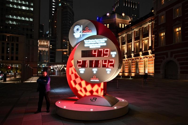Relógio com a contagem regressiva para o evento foi reajustado para a nova data