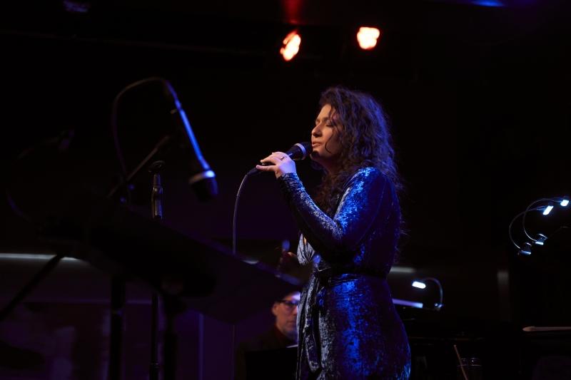 Cantora, que lançou o disco 'If you could see me now', já se apresentou com grandes nomes do estilo