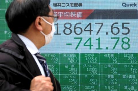 Bolsas da Ásia fecham mistas com embalo deNova Yorkcontido por Covid-19; Tóquio tem recorde