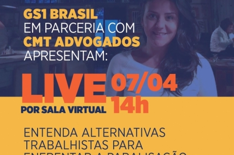 GS1 Brasil apresenta palestras on-line  para ajudar os negócios a enfrentar reflexos da pandemia