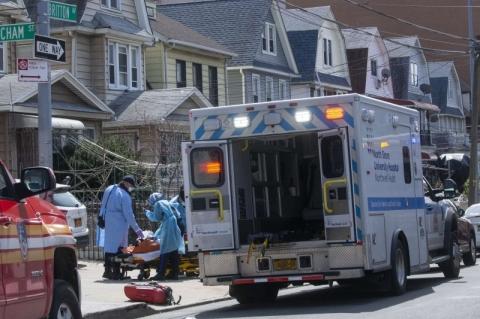 EUA bate marca de um milhão de casos de Covid-19