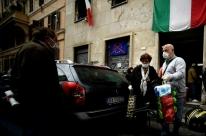 Itália deve começar reabertura econômica em 4 de maio