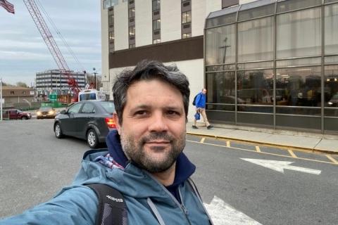 Gaúcho trabalha na reforma de hospital nos EUA para doentes de Covid-19