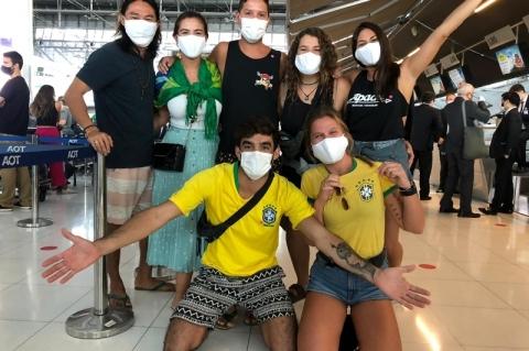 Gaúcha relata volta da Ásia em voo de repatriação ao Brasil