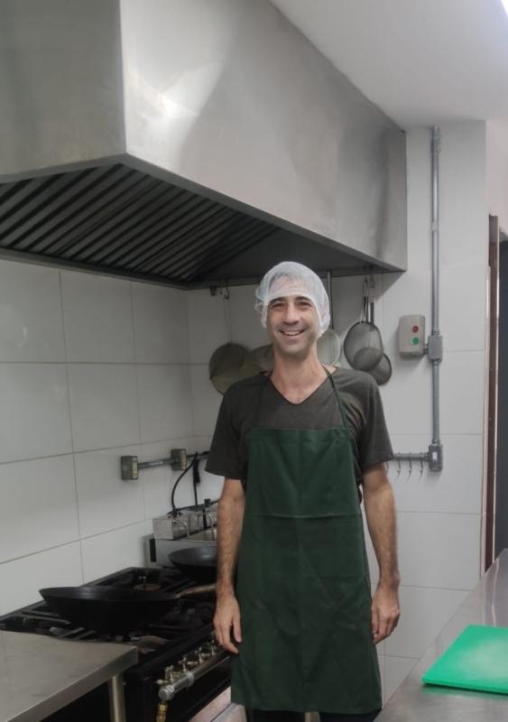 Nicolas Fainstein, do Spitfire Homemade Food