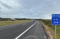 Dnit libera mais cinco quilômetros de pista duplicada da BR-116 no Rio Grande do Sul