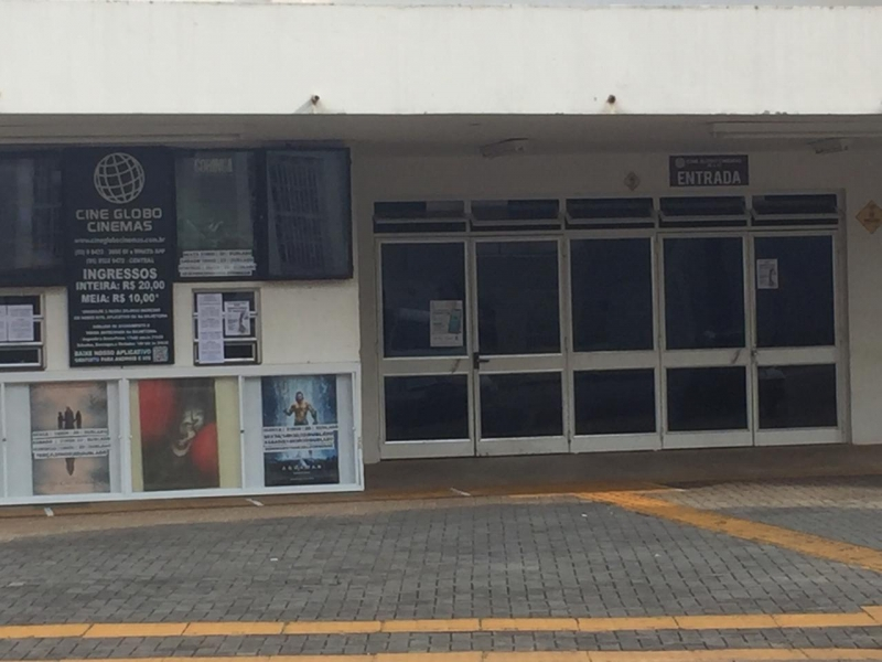 Cine Globo de Santa Rosa reabriu em 17 de abril, observando normas de prevenção à Covid-19