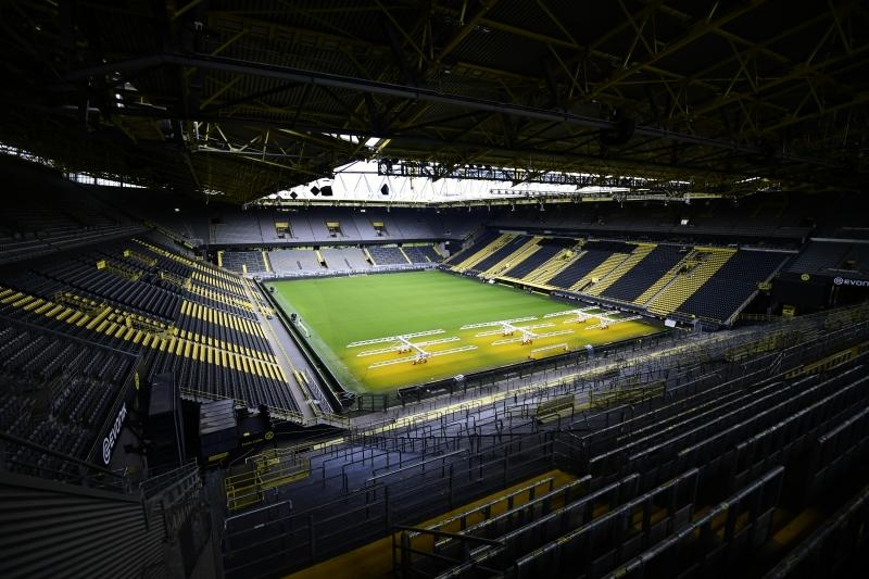 Jogos do campeonato alemão serão realizados com portões fechados