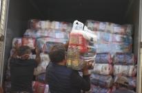 Cidades do Noroeste gaúcho recebem 126 toneladas de alimentos