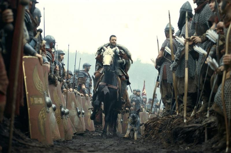 Russell Crowe ficou marcado por seu papel como Maximus no filme de 2000