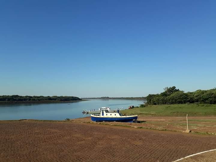 Em Itaqui, o rio Uruguai atingiu a quinta menor leitura da série histórica