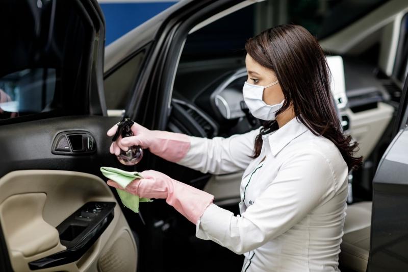 Concessionárias da marca passarão a oferecer um serviço especial de desinfecção de veículos