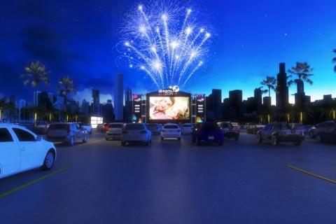 Cinemas drive-in ganham força no Rio Grande do Sul