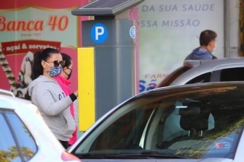 Três parques de Porto Alegre terão vagas de estacionamento rotativo pago
