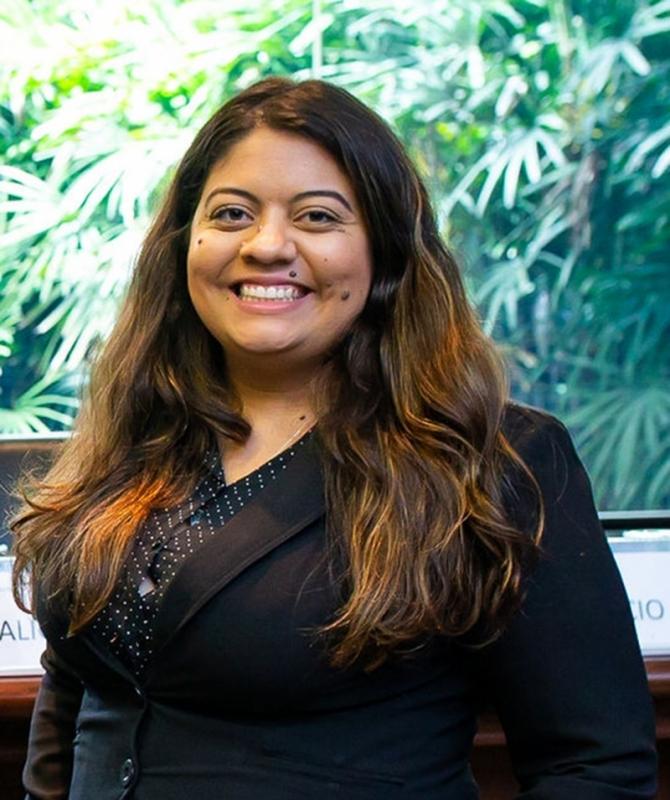 Andressa Melo, coordenadora de Inovação do FI Group