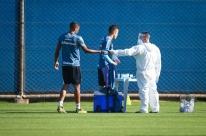 Grêmio 'recupera' atividade cancelada de segunda e conclui semana de treinos
