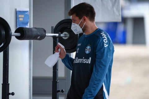 Grêmio encerra 4ª semana de treinos e já planeja 'situações de jogo'